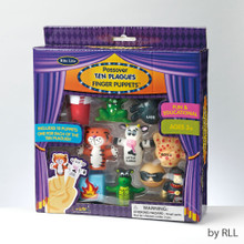 Ten Plagues Finger Puppets