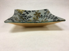 Square Flowered Bowl By Studio Z of Prima Design