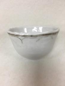 Le Cadeaux White Dessert Bowls  Set Of Four