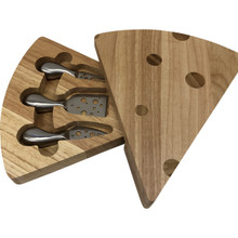 Swiss Cheese Board with Self-Storing Tools