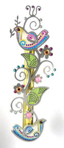 Mezuzah with jeweled animals by Seeka of Israel