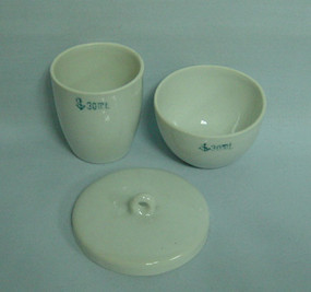 Crucibles, Ceramic Glazed
