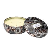 VOLUSPA Limited Edition 3-Wick Yashioka Gardenia Candle in Decorative Tin