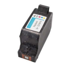 Replacement for HP 51641A Tri-Color Inkjet Cartridge (HP41)