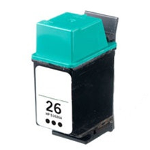 Replacement for HP 51626A Black Inkjet Cartridge (HP26)