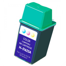 Replacement for HP 51625A Tri-Color Inkjet Cartridge (HP25)
