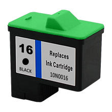 Replacement for Lexmark 10N0016 Black Inkjet Cartridge (Lexmark#16)