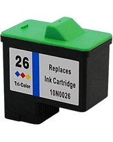 Replacement for Lexmark 10N0026 Color Inkjet Cartridge (Lexmark#26)