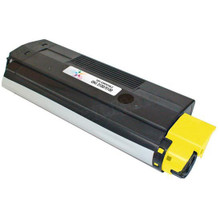 Replacement for Okidata 42127401 Yellow Laser/Fax Toner Cartridge