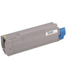 Replacement for Okidata 43324401 High Capacity Yellow Toner Cartridge (Type C8)