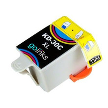 Replacement for Kodak 1341080  Color Inkjet Cartridge (#30XLC)