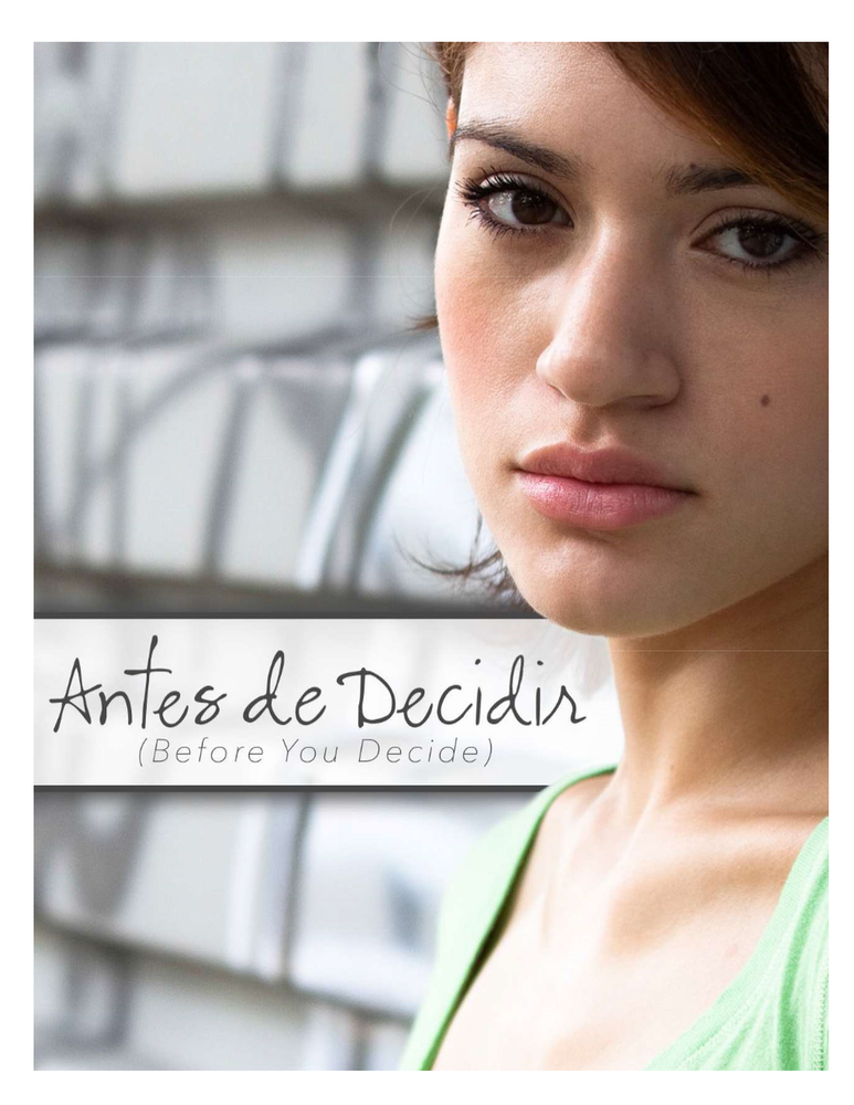 Before you decide brochure Español (Unlimited Downloads)