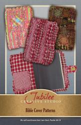 Ragged Homespun Bible Book Cover Pattern #1- DIGITAL