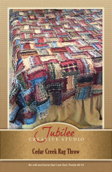 Cedar Creek Bed Size Coverlet Pattern - DIGITAL