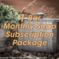 Random Handmade Soap Subscription ( 1 Bar/Month )