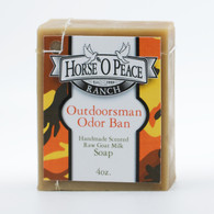 Discontinued Handmade Outdoorsman Odor Ban Goat Milk Soap