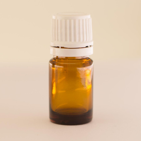 """""""Young Living Style"""" 5ml Amber Essential Oil Bottle with Euro Style Cap 
