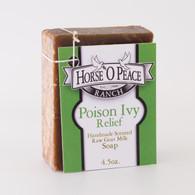 Handmade Goat Milk Soap 100% Raw | Poison Ivy Relief Goat Milk Soap | Horse O Peace