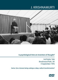 Is psychological time an invention of thought?