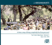 10 Public Meetings in Ojai 1978    (MP3 Disc in two volumes)
