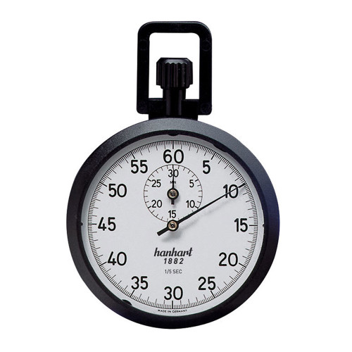 Hanhart 111.0117-00 Crown Stopper Mechanical Stopwatch