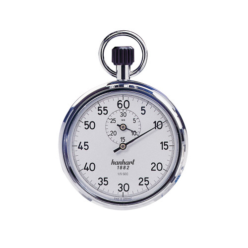 Hanhart 112.0101-00 Crown Stopper Mechanical Stopwatch