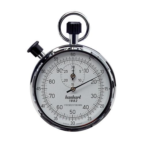 Hanhart 122.0301-VW Crown Stopper Mechanical Stopwatch