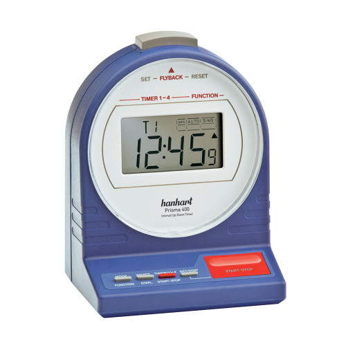 Hanhart 626.2626-CTRS Prisma 400 Table Timer Calibrated Blue