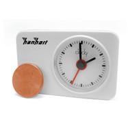 Hanhart Clocky Compact Travel Alarm Clock (White)