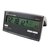 Junghans 170/1002.00 Atomic Alarm Clock (Black)