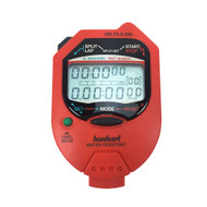 Hanhart 245.1948-WO Delta E 200 Red Digital Stopwatch