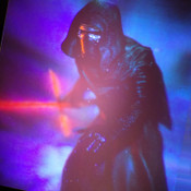 NEW Collectible Star Wars 3D Hologram of Kylo Ren w/ Lighted Display Unit