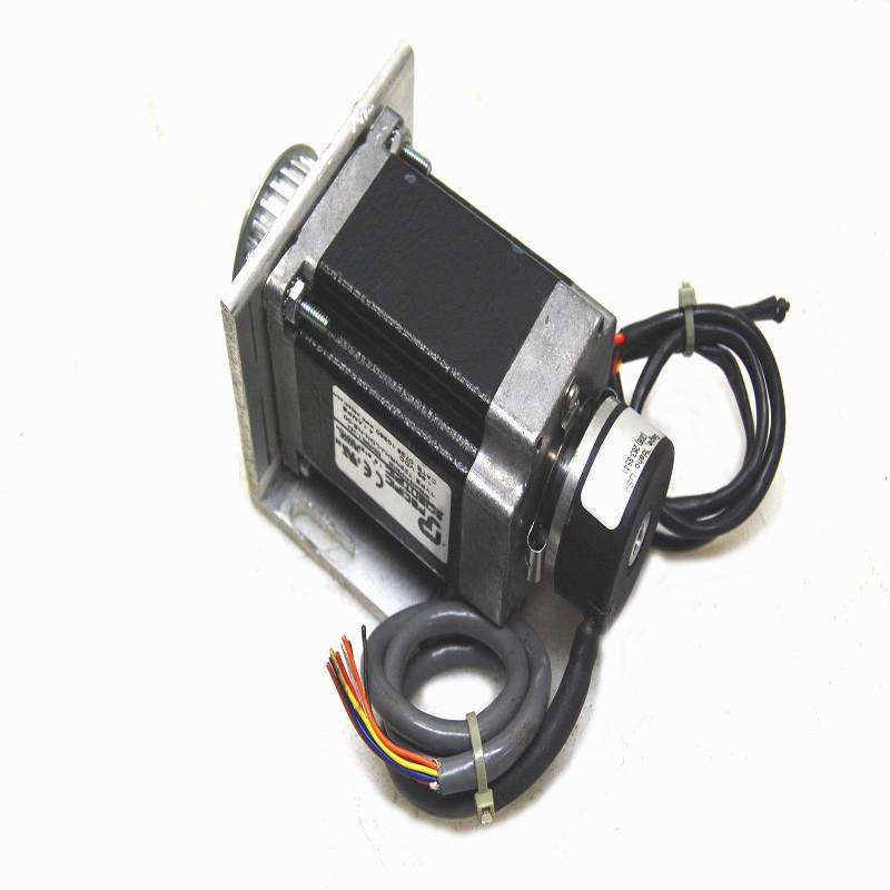 Pacific Scientific T22nrhj Ldn N8 00 Stepper Motor W Accu Coder Encoder