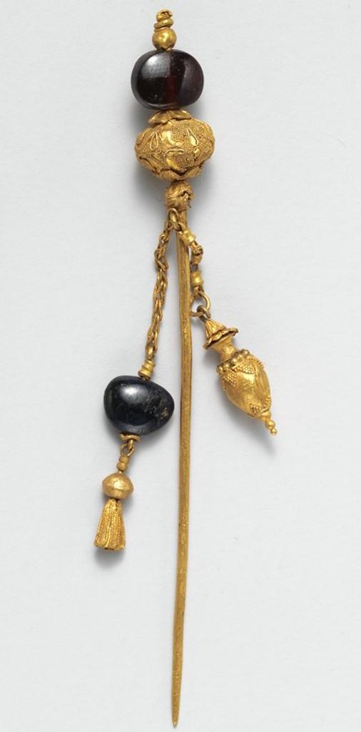 Black garnet jewelry.