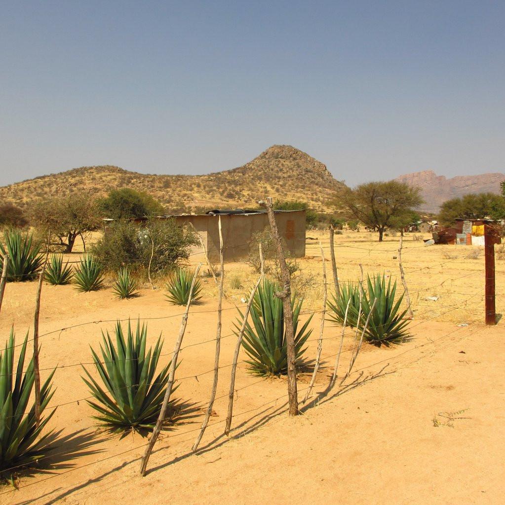 Namibian mining camp.