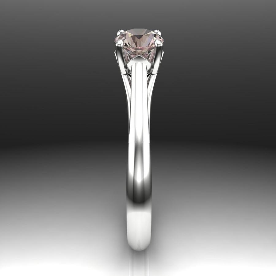 Color Change Sapphire Engagement Ring | Precision Cut Gem