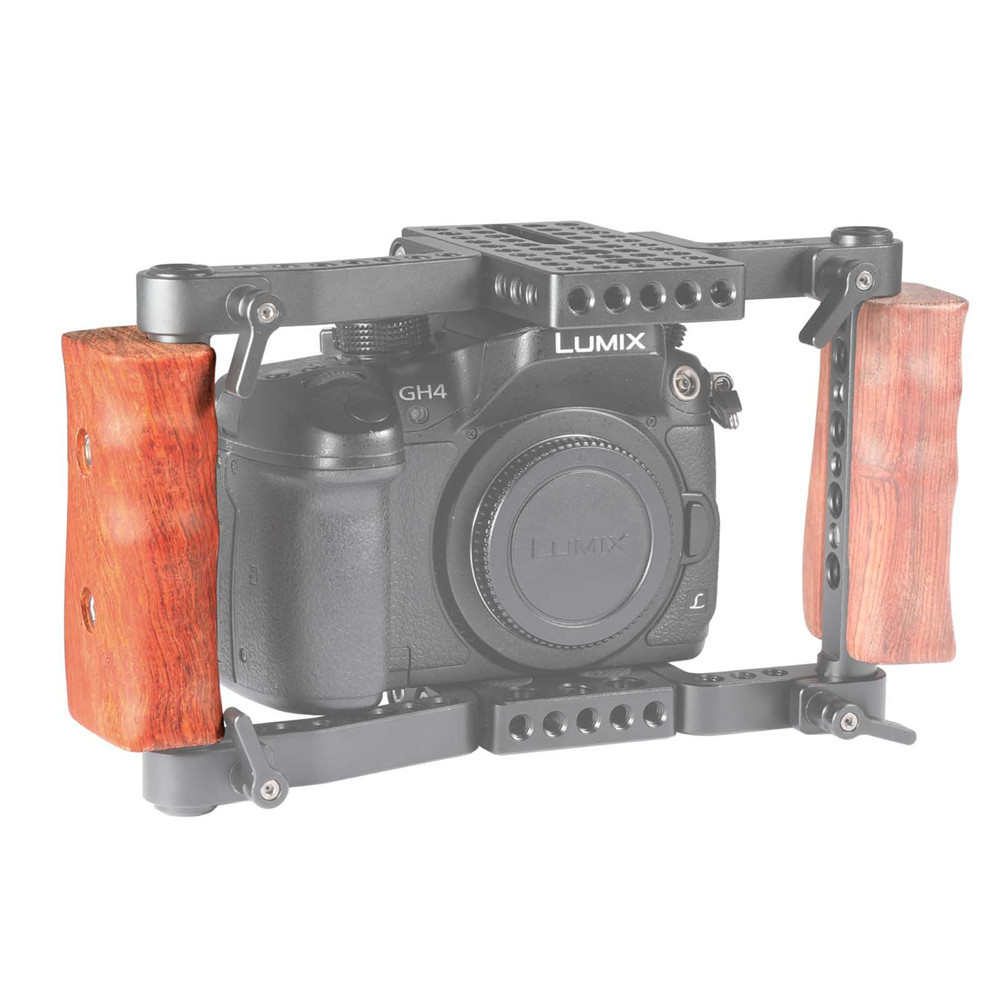 SMALLRIG Wooden Handle(Right Side) for DSLR Cage 1747