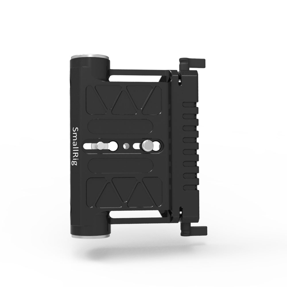 SMALLRIG Mounting Plate with 19mm Rod Clamps 1863