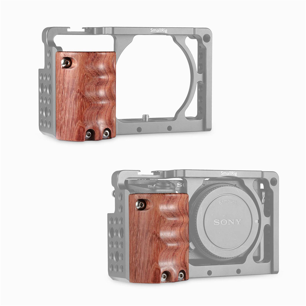 SmallRig Wooden Handgrip for Sony A6000/A6300/A6500 ILCE-6000/ ILCE-6300/ILCE-6500 1970