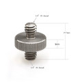 "SmallRig Double Head Stud with 1/4"" to 1/4"" thread 10pcs Pack 1613"
