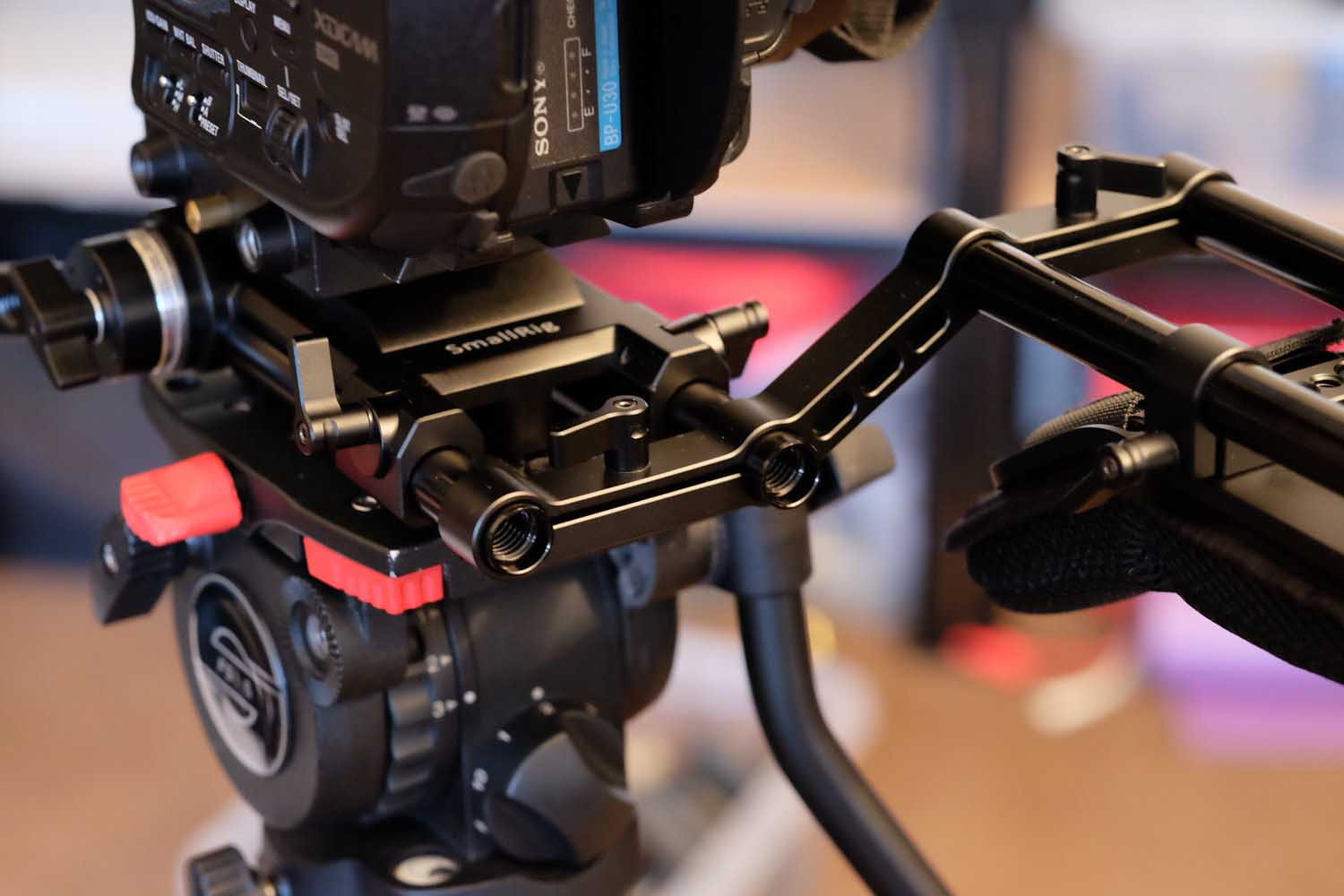 The Sony FS5 Shoulder Rig
