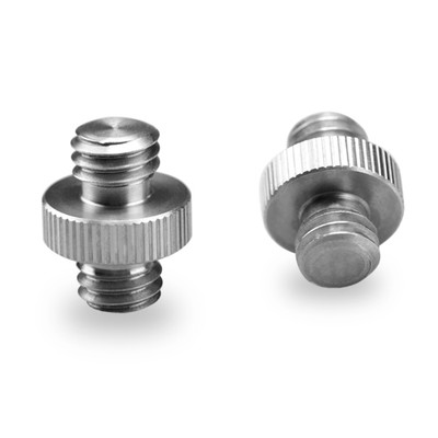 "Double Head Stud 2pcs pack with 3/8"" to 3/8"" thread 1065"