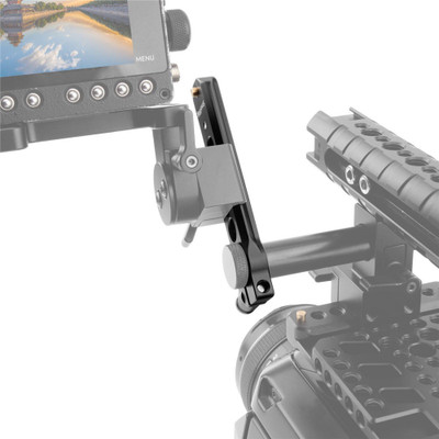 SMALLRIG Safety NATO Rail (4'†with 15mm Rod Clamp 1910
