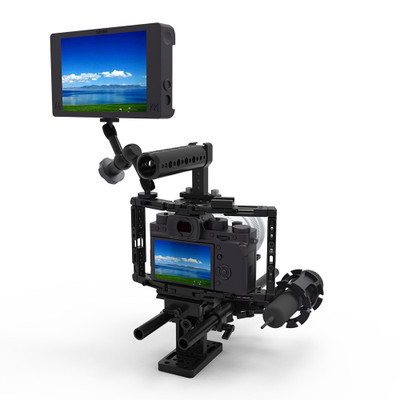 SMALLRIG Adjustable Cage for DSLR/Monitor 1944