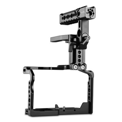SmallRig Cage with Helmet Kit for Panasonic Lumix GH5DMW-XLR1 2052