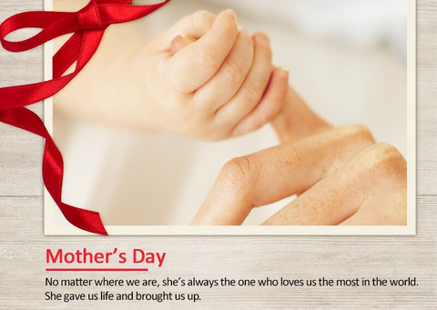 ​Happy Mother's Day!