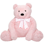 Pinky Bear - Big Stuffed Teddy Bear