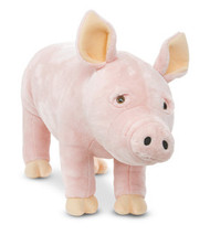 Simon the Pig - Large Stuffed Pig