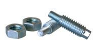 M6 to 3/8 Stud Adaptors, Zinc Plated Hardened Steel