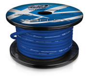 4 AWG Cable, 100% Oxygen Free Tinned Copper, Iced Blue, 100ft Spool